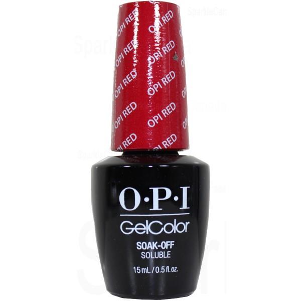 OPI Gel Color, OPI Red By OPI Gel Color, GCL72