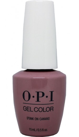 GCLA03 (P)Ink on Canvas By OPI Gel Color