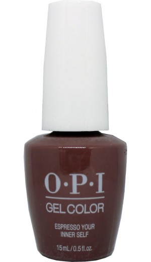 GCLA04 Espresso Your Inner By OPI Gel Color