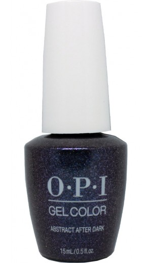 GCLA10 Abstract After Dark By OPI Gel Color