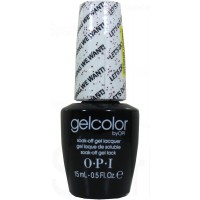 Let's Do Anything We Want! By OPI Gel Color