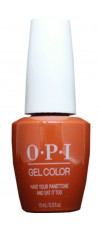 Have Your Panettone And Eat it Too By OPI Gel Color