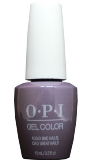 GCMI10 Addio Bad Nails, Ciao Great Nails By OPI Gel Color