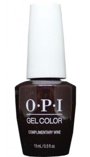 GCMI12 Complimentary Wine By OPI Gel Color