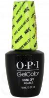 Life Gave Me Lemons By OPI Gel Color