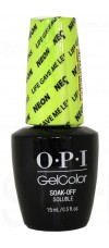 Life Gave Me Lemons By OPI Gel Color