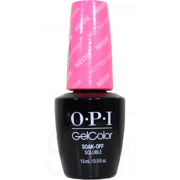 Gcn36 Hotter Than You Pink By Opi Gel Color