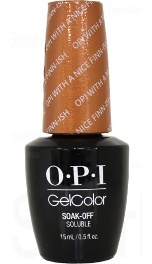 GCN41 OPI with a Nice Finn-ish By OPI Gel Color