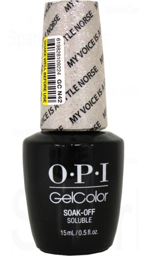 GCN42 My Voice is a Little Norse By OPI Gel Color