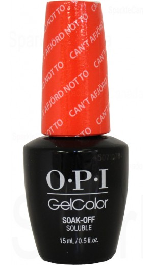 GCN43 Can t Afjord Not To By OPI Gel Color