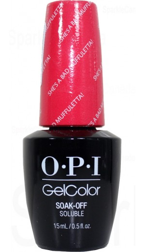 GCN56 She s a Bad Muffuletta! By OPI Gel Color