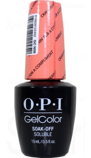 GCN58 Crawfishin  for a Compliment By OPI Gel Color