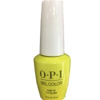 Pump Up The Volumn By OPI Gel Color