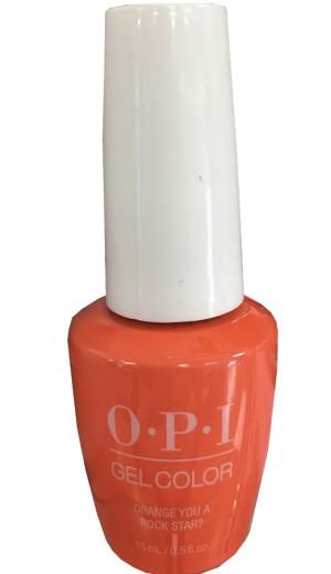 GCN71 Orange You a Rock Star By OPI Gel Color