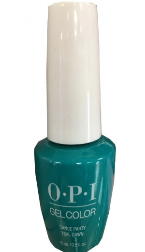 GCN74 Dance Party Teal Dawn By OPI Gel Color