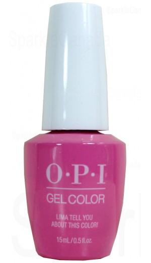 GCP30 Lima Tell You About This Color! By OPI Gel Color