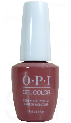 GCP37 Somewhere Over the Rainbow Mountains By OPI Gel Color