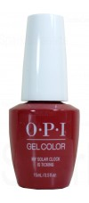 My Solar Clock is Ticking By OPI Gel Color