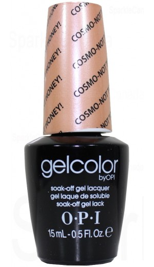Opi Gel Color Cosmo Not Tonight Honey By Opi Gel Color