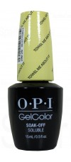 Towel Me About It By OPI Gel Color