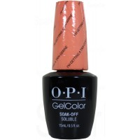 I'm Getting a Tan-gerine By OPI Gel Color