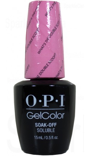 GCR71 What s the Double Scoop ? By OPI Gel Color