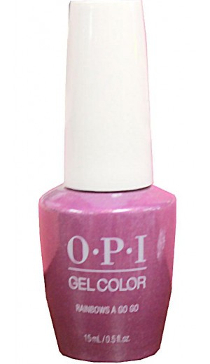 GCSR4 Rainbows a Go Go By OPI Gel Color