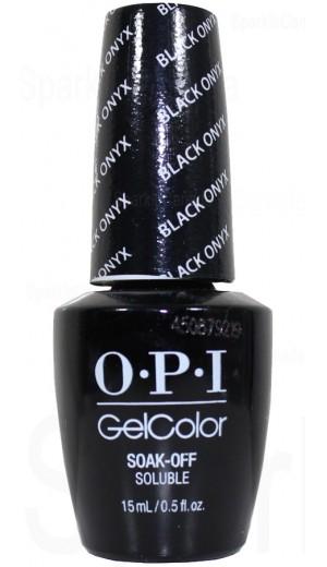GCT02 Black Onyx By OPI Gel Color