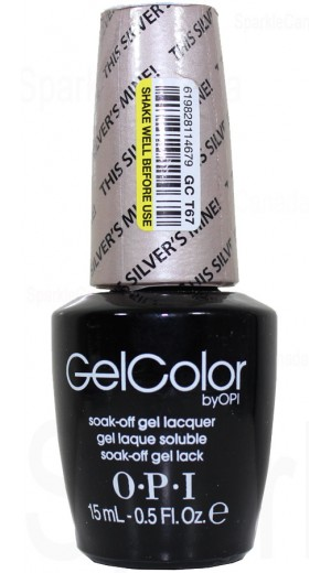 GCT67 Silver s Mine! By OPI Gel Color