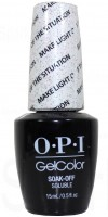 Make Light Of The Situation By OPI Gel Color