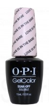 Love Is In the Bare By OPI Gel Color