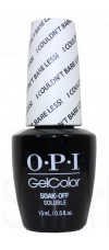 I Couldn't Bare Less By OPI Gel Color