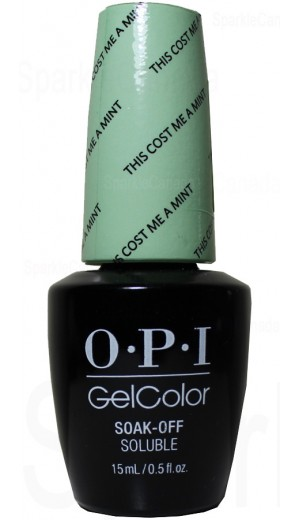 GCT72 This Cost Me A Mint By OPI By OPI Gel Color