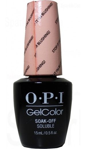 GCT74 Stop It I m Blushing! By OPI Gel Color