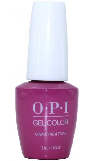 GCT82 Arigato from Tokyo By OPI Gel Color