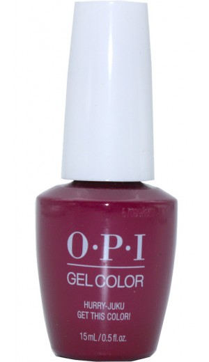 GCT83 Hurry-juku Get this Color! By OPI Gel Color