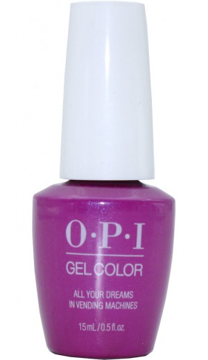GCT84 All Your Dreams in Vending Machines By OPI Gel Color