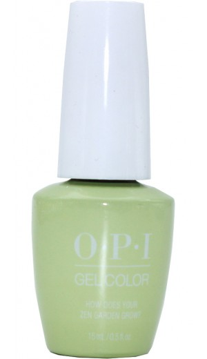 GCT86 How Does Your Zen Garden Grow? By OPI Gel Color