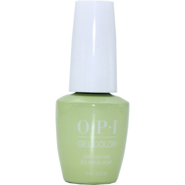 What Does A Zen Garden Do: OPI Gel Color, How Does Your Zen Garden Grow? By OPI Gel