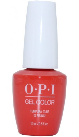 GCT89 Tempura-ture is Rising! By OPI Gel Color