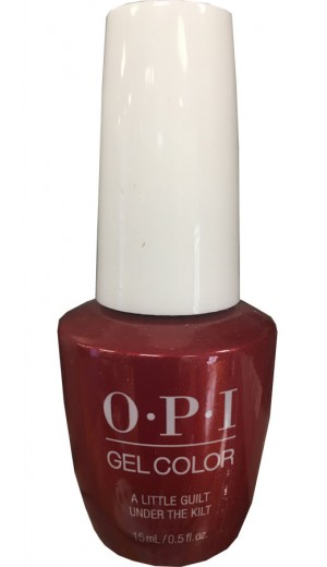 GCU12 A Little Guilt Under The Kilt By OPI Gel Color