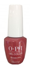 Red Heads Ahead By OPI Gel Color