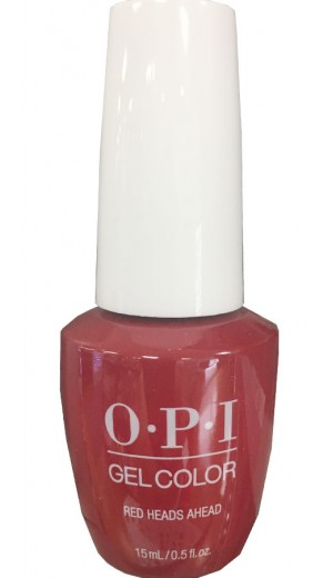 GCU13 Red Heads Ahead By OPI Gel Color