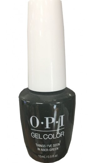 GCU15 Things I ve Seen In Aber-Green By OPI Gel Color