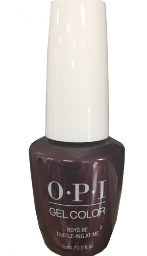 GCU17 Boys Be Thistle-ing At Me By OPI Gel Color