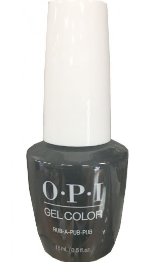 GCU18 Rub-A-Pub-Pub By OPI Gel Color