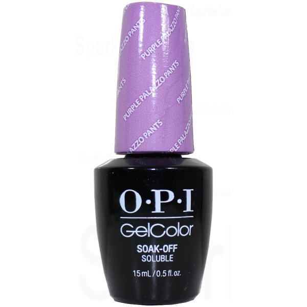 Purple Gel Nail Polish: OPI Gel Color, Purple Palazzo Pants By OPI Gel Color