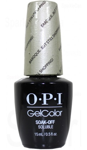 GCV38 Baroque... But Still Shopping! By OPI Gel Color