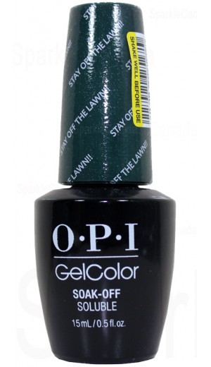 GCW54 Stay Off The Lawn!! By OPI Gel Color