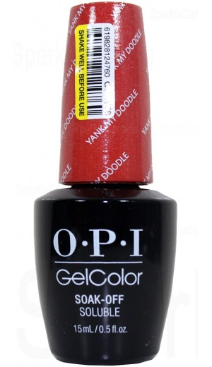GCW58 Yank My Doodle By OPI Gel Color